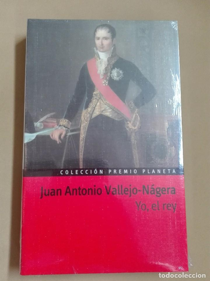 YO EL REY JUAN ANTONIO VALLEJO NÁJERA PREMIO PLANETA 1985 NUEVO PRECINTADO (Libros antiguos (hasta 1936), raros y curiosos - Literatura - Narrativa - Otros)