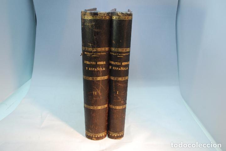 HISTORIA DE LA LITERATURA ESPAÑOLA - TOMOS I Y II - REVILLA Y ALCÁNTARA - MADRID - 1897 - (Libros antiguos (hasta 1936), raros y curiosos - Literatura - Narrativa - Otros)
