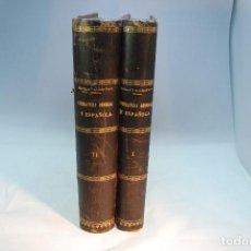 Libros antiguos: HISTORIA DE LA LITERATURA ESPAÑOLA - TOMOS I Y II - REVILLA Y ALCÁNTARA - MADRID - 1897 -. Lote 96368355