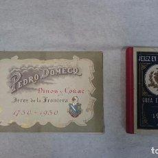 Libros antiguos: JEREZ DE LA FRONTERA: GUÍA ECONÓMICA (1926) Y PEDRO DOMECQ JEREZ DE LA FONTERA 1750-1930. Lote 96368547