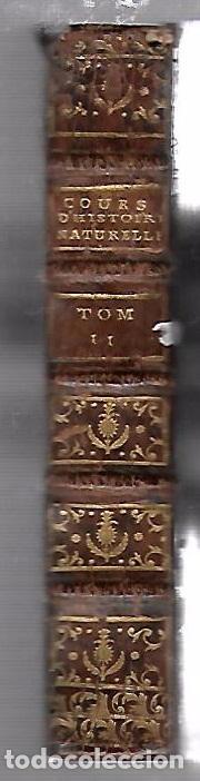 Libros antiguos: CURSO DE HISTORIA NATURAL. TOMO SEGUNDO. 1770. PARIS. GRABADOS. CHEZ DESAINT. LEER. VER - Foto 3 - 96486427