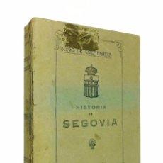 Libros antiguos: HISTORIA DE SEGOVIA Y COMPENDIO DE LAS HISTORIAS DE CASTILLA // DIEGO DE COLMENARES // ((1921)). Lote 49250731