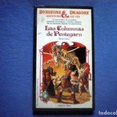 Libros antiguos: LIBRO DUNGEONS & DRAGONS Nº 1 LAS CAVERNAS DEL TERROR ROSE ESTES ED TIMUN MAS . Lote 96655715
