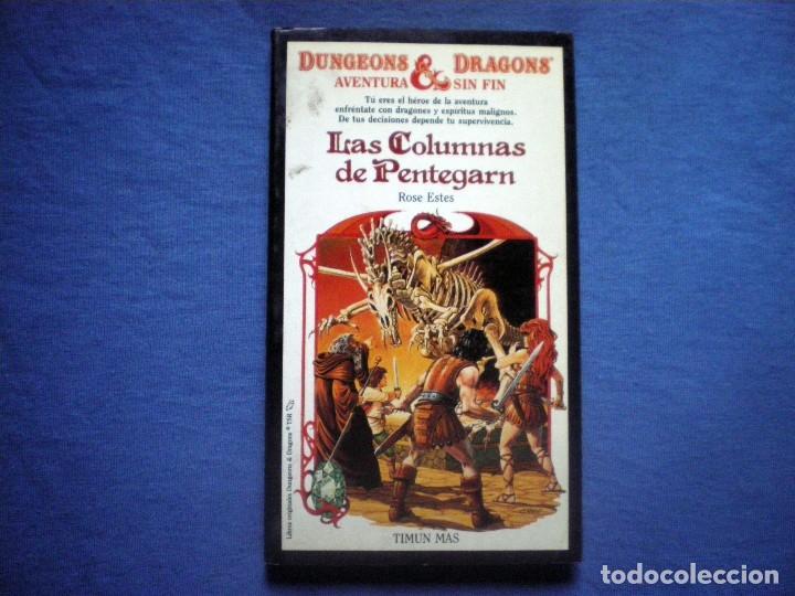 LIBRO DUNGEONS & DRAGONS Nº 3 LAS COLUMNAS DE PENTEGARN ROSE ESTES ED TIMUN MAS (Libros Antiguos, Raros y Curiosos - Literatura Infantil y Juvenil - Otros)