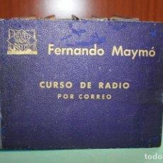 Libros antiguos: CURSO RADIO MAYMO .. Lote 96697899