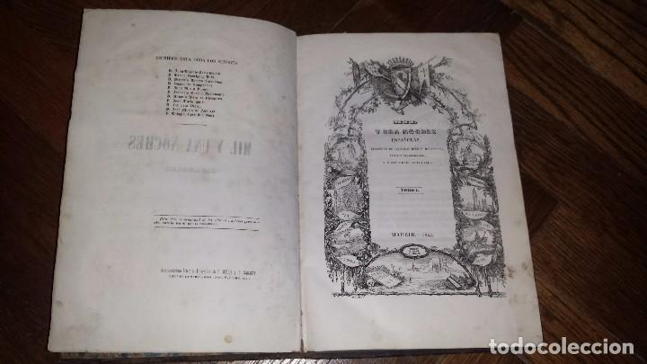 MIL Y UNA NOCHES ESPAÑOLAS (1845) POCOS EJEMPLARES CONOCIDOS. TOMO I ÚNICO. (Libros antiguos (hasta 1936), raros y curiosos - Literatura - Narrativa - Otros)