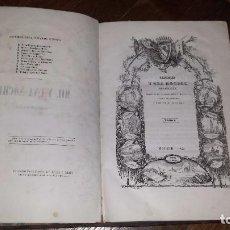 Libros antiguos: MIL Y UNA NOCHES ESPAÑOLAS (1845) POCOS EJEMPLARES CONOCIDOS. TOMO I ÚNICO.. Lote 96784867