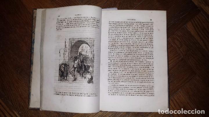 Libros antiguos: Mil y una noches Españolas (1845) Pocos Ejemplares Conocidos. Tomo I Único. - Foto 4 - 96784867