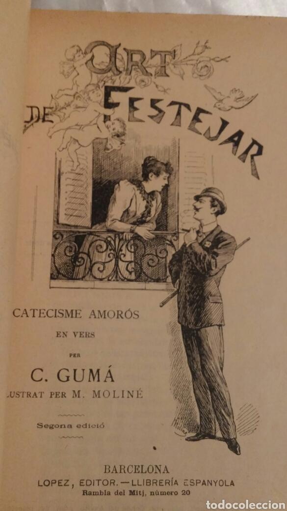 Libros antiguos: C.GUMA HUMORADES EN VERS - Foto 3 - 96943851