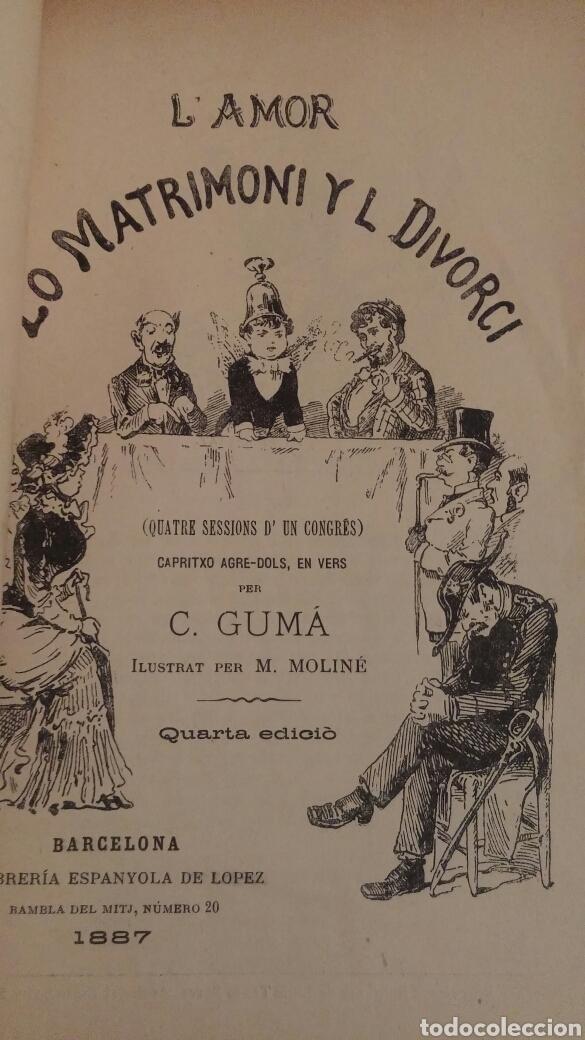 Libros antiguos: C.GUMA HUMORADES EN VERS - Foto 5 - 96943851