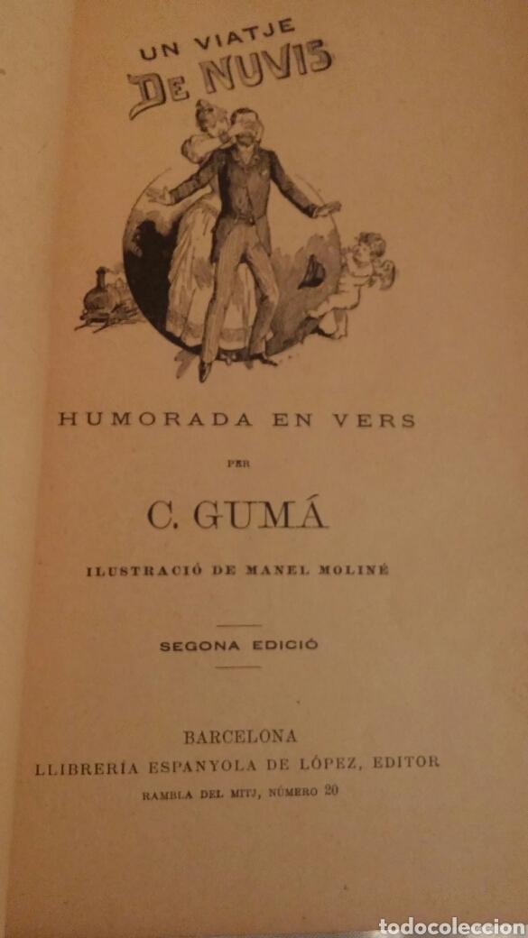 Libros antiguos: C.GUMA HUMORADES EN VERS - Foto 7 - 96943851