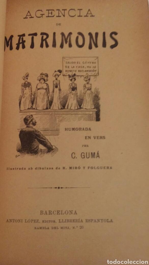 Libros antiguos: C.GUMA HUMORADES EN VERS - Foto 8 - 96943851