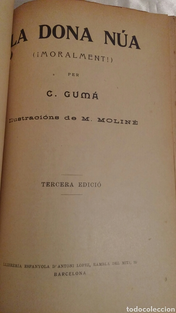 Libros antiguos: C.GUMA HUMORADES EN VERS - Foto 9 - 96943851
