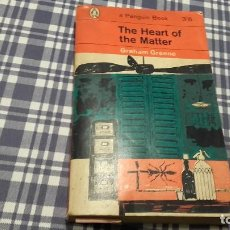 Libros antiguos: THE HEART OF THE MATTER, GRAHAM GREENE PENGUIN. Lote 96976567