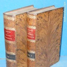 Libros antiguos: HISTORIA D'IGUALADA.--(2 TOMOS OBRA COMPLETA).-MOSSÉN JOAN SEGURA. Lote 97059847