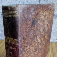 Livros antigos: CATECHISMUS ROMANUS - AD PARACHOS - EX DECRETO SCR. CONCILII TRIDENTINI JUSSU PII V. PONTIF. MAXIMI. Lote 97080023