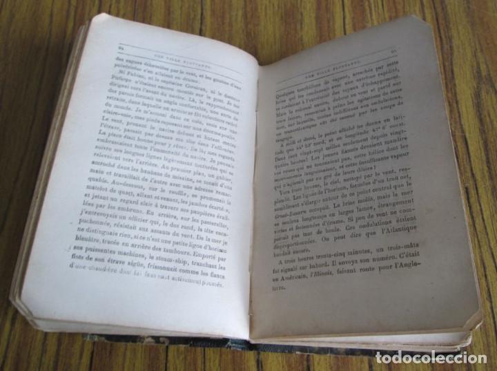 Libros antiguos: UNE VILLE FLOTTANTE - Par Jules Verne Paris - Sin fecha - Foto 2 - 97082703