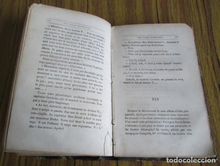 Libros antiguos: UNE VILLE FLOTTANTE - Par Jules Verne Paris - Sin fecha - Foto 3 - 97082703
