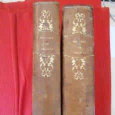 Libros antiguos: HISTORIAS DE FRANCIA 2 TOMOS. Lote 97119883