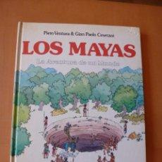 Libros antiguos: LOS MAYAS. LA AVENTURA DE UN MUNDO. MONTENA. Lote 97175371