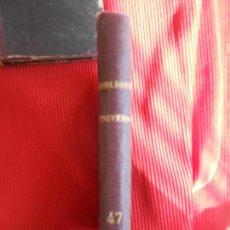 Libros antiguos: BIBLIOTECA UNIVERSAL 47. Lote 97189215