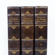 Libros antiguos: AMADOR DE LOS RÍOS. HISTORIA SOCIAL, POLÍTICA Y RELIGIOSA DE LOS JUDÍOS DE ESPAÑA Y PORTUGAL 1ª EDIC. Lote 97301663