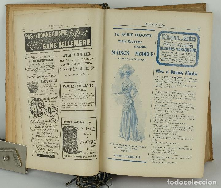 Libros antiguos: Le Cordon Bleu años 1908, 1909 y 1910 - Foto 8 - 97307199
