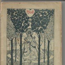 Libros antiguos: ALMANAQUE DE LA PARROQUIA DE NTRA SRA DE LA BONANOVA BARCELONA 1908. Lote 97307307