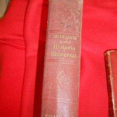 Libros antiguos: HISTORIA UNIVERSAL -CESAR CANTU . Lote 97352735