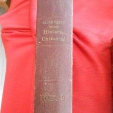 Libros antiguos: HISTORIA UNIVERSAL -CESAR CANTU. Lote 97353027