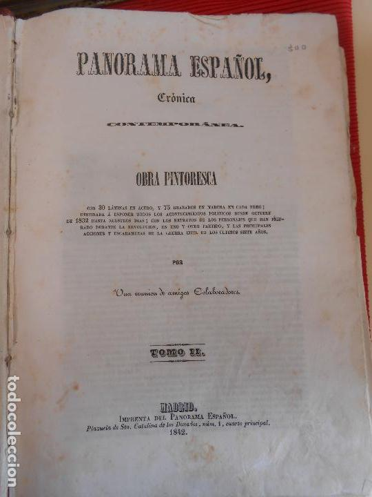 Libros antiguos: PANORAMA ESPAÑOL-CRPMOCA CONTEMPORANEA-TOMO II - Foto 2 - 97353227