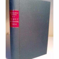 Libros antiguos: EN PRO Y EN CONTRA (CRÍTICAS). Lote 97377807