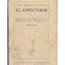 Libros antiguos: EL ESPECTADOR I. Lote 97390795