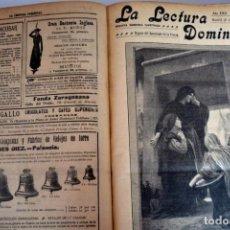 Libros antiguos: LA LECTURA DOMINICAL , LIBRO DE 1915, 825 PÁGINAS , PARA COLECCIONISTAS. Lote 97432007