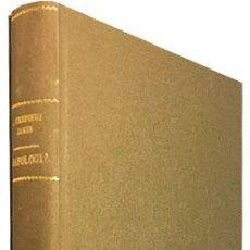 Libri antichi: CRÉPIEUX-JAMIN : LA ESCRITURA Y EL CARÁCTER. (1ª ED EN ESPAÑOL. ENCUADERNADO EN TELA. (GRAFOLOGÍA. Lote 97432123