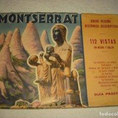 Libros antiguos: MONTSERRAT, 112 VISTAS . BREVE RESEÑA HISTÓRICO-DESCRIPTIVA. Lote 97484727