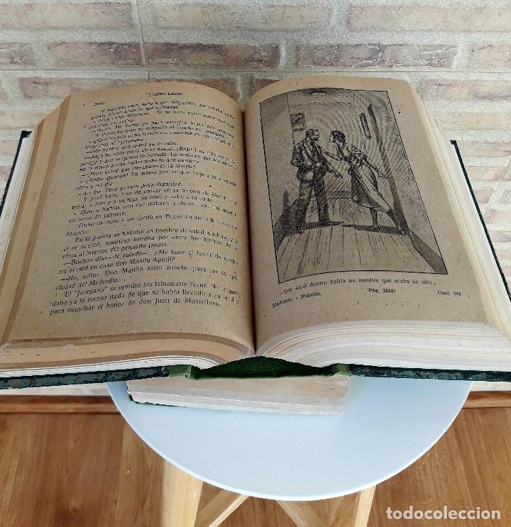 MADONITA. OBRA COMPLETA 2 VOL. 4268 PAG. NOVELA POR FASCÍCULOS PRINCIPIOS SXX. CREO QUE SIN ABRIR (Libros Antiguos, Raros y Curiosos - Literatura - Otros)