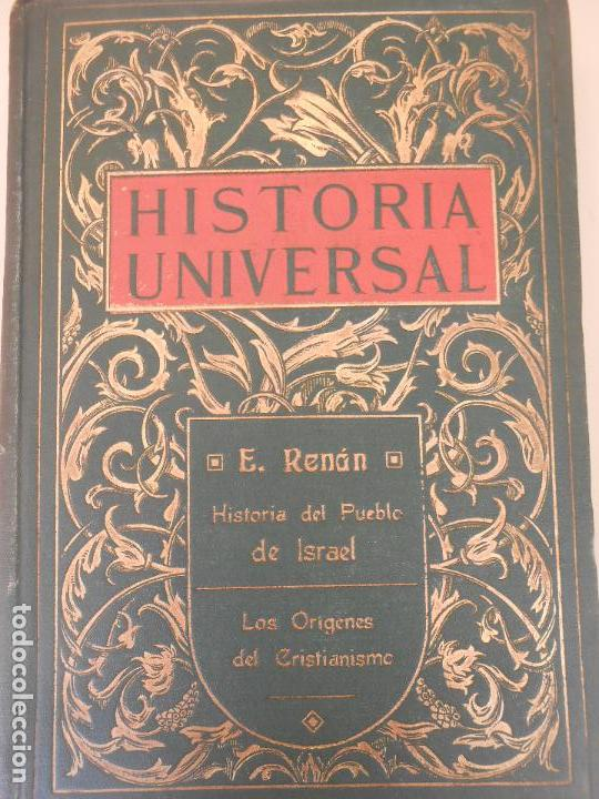 HISTORIA UNIVERSAL (Libros Antiguos, Raros y Curiosos - Historia - Otros)