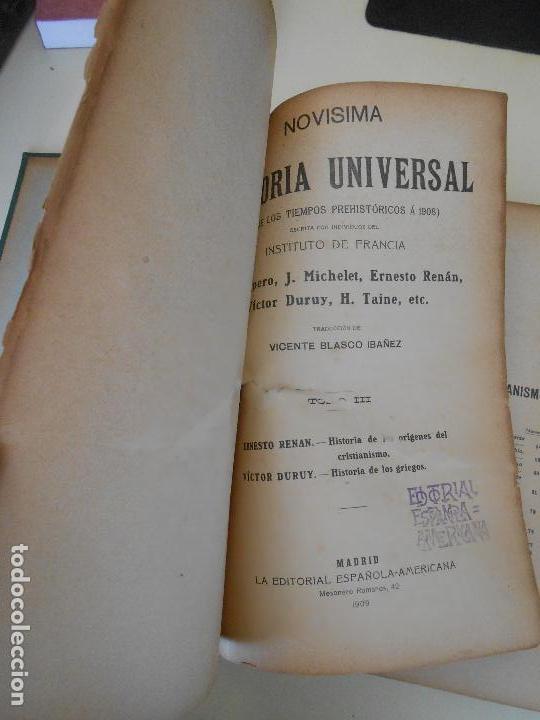 Libros antiguos: HISTORIA UNIVERSAL - Foto 2 - 97569399