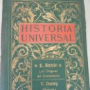 Libros antiguos: HISTORIA UNIVERSAL-HISTORIA DE LOS GRIEGOS. Lote 142131945
