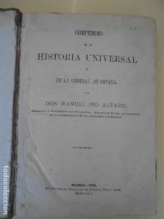 Libros antiguos: HISTORIA UNIVERSAL-HISTORIA DE LOS GRIEGOS - Foto 2 - 142131945