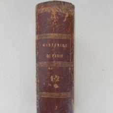 Libros antiguos: LOS MISTERIOS DE PARIS M.EUGENIO SUE. Lote 97575927