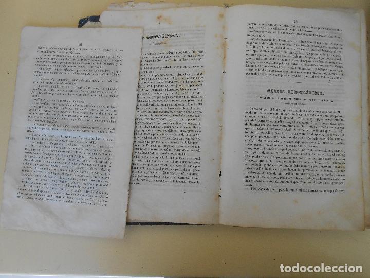 Libros antiguos: LA AURORA PERIODICO DE LOS NIÑOS TOMO I - Foto 2 - 97656443