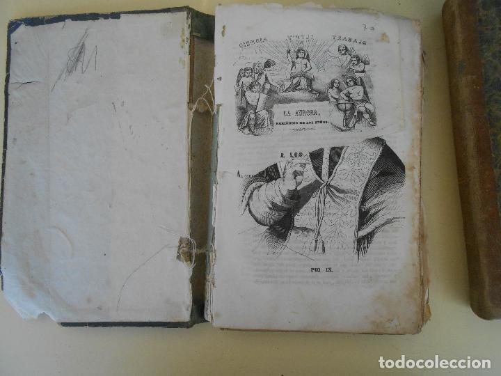 Libros antiguos: LA AURORA PERIODICO DE LOS NIÑOS TOMO I - Foto 3 - 97656443