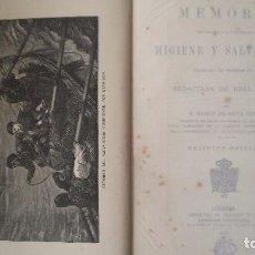 Alte Bücher - Memoria Higiene y Salvamento Marítimo. Exposición de Bruselas 1876. - 97675987