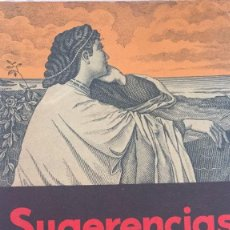 Libros antiguos: SUGERENCIAS-GAR-MAR. Lote 97696559