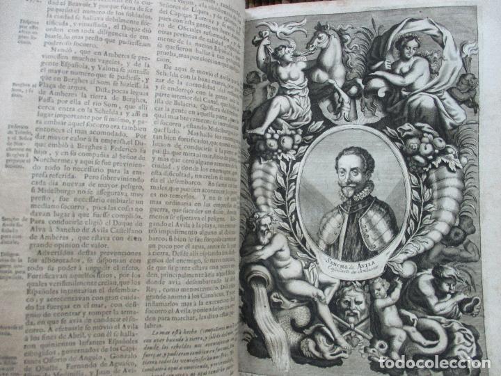 Libros antiguos: LAS GUERRAS DE FLANDES DESDE LA MUERTE DEL EMPERADOR CARLOS V..BENTIVOLLO, cardenal. 1687 - Foto 8 - 97709455