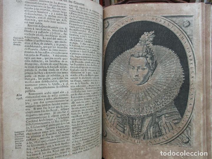 Libros antiguos: LAS GUERRAS DE FLANDES DESDE LA MUERTE DEL EMPERADOR CARLOS V..BENTIVOLLO, cardenal. 1687 - Foto 10 - 97709455