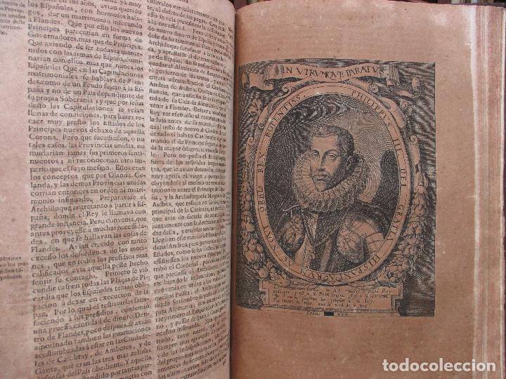 Libros antiguos: LAS GUERRAS DE FLANDES DESDE LA MUERTE DEL EMPERADOR CARLOS V..BENTIVOLLO, cardenal. 1687 - Foto 11 - 97709455