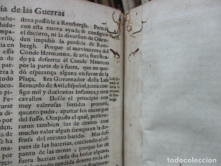 Libros antiguos: LAS GUERRAS DE FLANDES DESDE LA MUERTE DEL EMPERADOR CARLOS V..BENTIVOLLO, cardenal. 1687 - Foto 12 - 97709455